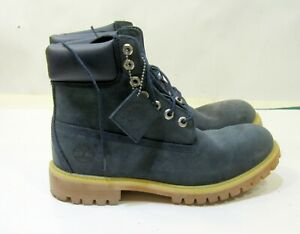 """NEW Timberland  6163A 6"""" Padded Boots BLUE men  SIZE  9 - 8.5 ***"""