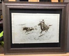 Rare Edward Borein Pencil Signed Etching
