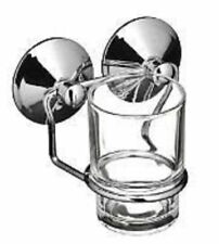 Glass tumbler with holder suction fixing by Premier £7.99
