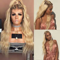Best Indian Human Hair Wig Blonde Straight Wavy Lace Front Wigs 100% Remy Hair s
