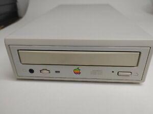 AppleCD 600e External CD-ROM Player M3958 - Apple 1995 -Tested