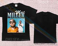 New Inspired By Mac Miller T-shirt Merch Tour Limited Vintage Rare Gildan 1rw