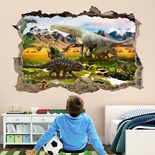 Dinosaurs Wall Art Stickers Mural Decal Print Kids Bedroom Nursery Decor HE7