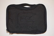 GLOCK PADDED SOFT PISTOL CASE 17 19 20 21 22 23 25 26 27 29 30 31 33 36 37 42 43