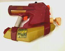 RARE IRON MAN 2 STARK INDUSTRIES SUPER SOAKER 2009 w/ Blast Feature! Squirt Gun