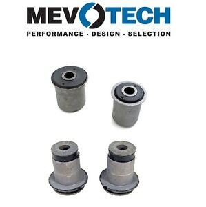 For Chevy GMC Pair Set of 2 Front Upper & Lower Control Arm Bushings Mevotech