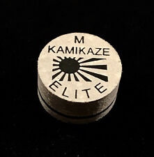 NEW....Kamikaze ELITE Layered Cue Tips  14 MM  (MED) (1 Tip)  Fast Shipping.