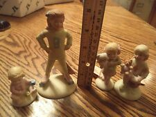 "Lot of 4 ""Growing Up Birthday Girls"" No Boxes - Displayed"
