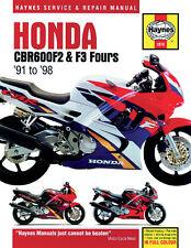 Haynes Repair Manual 2070 - Honda CBR600 F2 & F3 Fours (1991-1998)