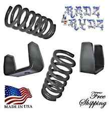 "1983-1997 Ford Ranger Mazda B 2WD 3-5"" Drop Coils Springs Axle Flip Lowering Kit"