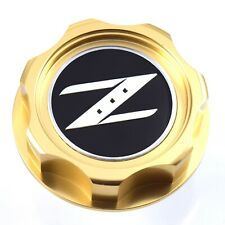 New Gold Z Billet Oil Cap For Nissan Infiniti Nismo JDM GTR 350z 370z 240SX