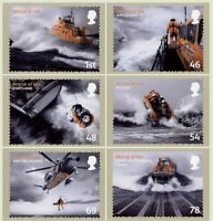 GB 2008 PHQ Cards Mint Set~Rescue At Sea~(6)~PHQ-309~UK Seller