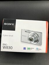 Sony CYBER-SHOT DSCW830 20.1 MP Digital Camera 2.7-Inch LCD 8X ZOOM 720P BLACK