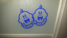 TWINS su board.baby, BabySeat, TWIN, finestra, auto, buggy, carrozzina, culla, letto, in gravidanza