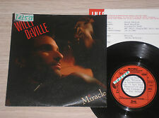 "WILLY DeVILLE - MIRACLE / I CALL YOUR NAME - 45 GIRI 7"" GERMANY + PROMO SHEET"