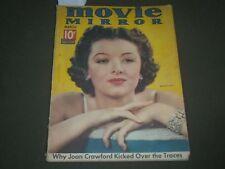 1937 MARCH MOVIE MIRROR MAGAZINE - MYRNA LOY COVER - SP 8560