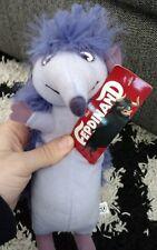 FERDINAND Movie Dos the Hedgehog Plush Stuffed Toy Factory Tags Purple Blue Sky