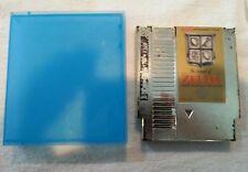 The Legend of Zelda Nintendo NES Game Cartridge Gold with hard case