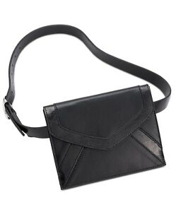 👍Large Black 💖⭐Designer INC International Concepts  Envelope Belt Bag