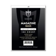 1000 Max Pro Ultra Premium Magazine Bags - 8-3/4 x 11-1/8 - Acid Free Archivals