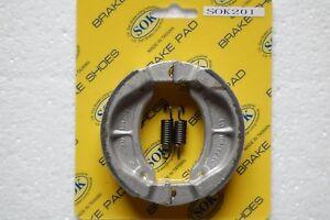 REAR BRAKE SHOES+Springs fit YAMAHA SH 50 Razz 1987-2001 SH50 SH50M