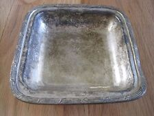 """Silver Candy Dish/Serving Tray """"The Madison"""" Hotel By International Silver"""