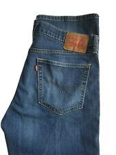 Levi's 527 Low Rise Boot Cut Blue STRETCH Cotton Denim Jeans 36x32