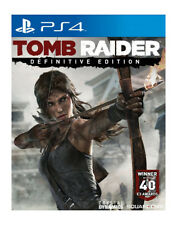 Tomb Raider -- Definitive Edition (Sony PlayStation 4, 2014)