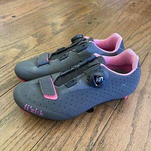 Fizik Womens R5 BOA Road Cycle Shoe Anthracite / Fuschia, 37