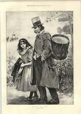 1893 Wandering Drummer Down On His Luck
