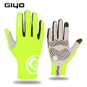 GIYO Touch Screen Long Full Fingers Gel Sports MTB Road Bike Riding Racing Glove