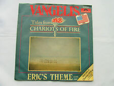 "VANGELIS Chariots Of Fire 1981 WEST GERMAN PRESSING 7"" VINYL SINGLE IN P/S VG/EX"