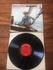 Miles Davis LP Vinyl Record Miles Ahead +19 6 Eye Mono Press Columbia