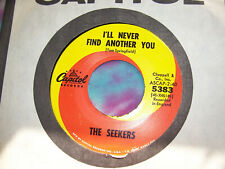 Seekers I'll Never Find Another You 45 Rpm 1965 Pop Rock Vocal Vg+