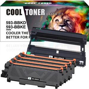 593-BBKD Toner &593-BBKE Drum for Dell Laser Printer E310dw E514dw E515dn E515dw