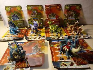 Personaggi Dinofroz Combact 3ª Serie carte cards lotto stock 6 pz