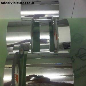 Nastro vinile stripe auto adesivo a specchio cromato decorazione 25/50/200mm