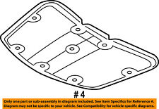 Dodge CHRYSLER OEM 09-16 Journey Hood-Insulation Pad Liner Heat Shield 5076896AB
