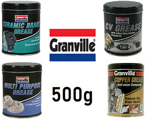 Granville Multi Purpose Copper / Ceramic CV Bearing Joint Brake Grease - 500g
