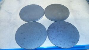 4x 100mm x 6mm Plasma Cut Discs. NON-PRIME Mild Steel  Fabrication Welding