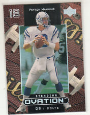PEYTON MANNING 1999 Upper Deck Ovation Standing Ovation Parallel #23 Colts 16/50