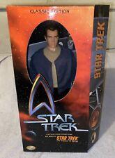 "NEW Star Trek Classic Edition Captain Pike 12"" Action Figure Playmates 1999 MIMB"