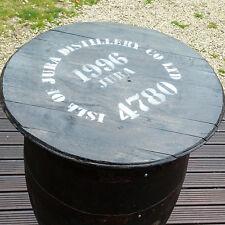 RUSTIC ROVERE MASSELLO RICICLATO Isle of Jura WHISKY BARREL PUB tabella