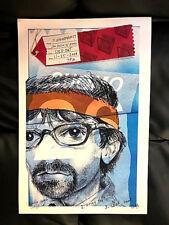 Rivers Cuomo -Live At Fingerprints 11/25/08 Concert Poster Ltd Orig Press Weezer