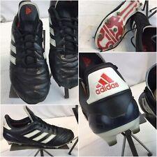 Adidas Copa 17.1 Firm Ground Cleats Sz 9 Black Leather Euc Ygi D9S-20