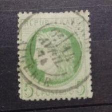 S030. France Classique. n° 53 oblitéré sans aminci. beau cachet Algérie 1874