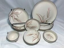 Vintage 13 Piece California Winfield Hand Crafted China Plates Bowl Cup