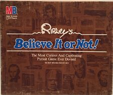 RIPLEY'S BELIEVE IT OR NOT GAME   MILTON BRADLEY 1984