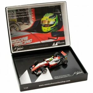 Mick Schumacher Dallara Mercedes F317 F3 European Champion 2018 1:43