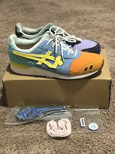 NEW Atmos x Sean Wotherspoon x Asics GEL-Lyte III Corduroy Shoes Men's Size 13